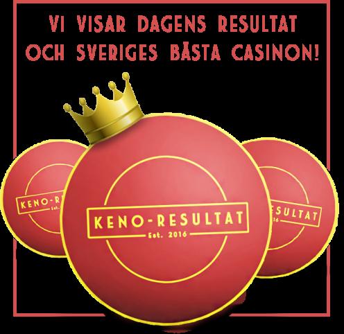 Keno Resultat slogan